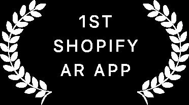 1st shopify ar app